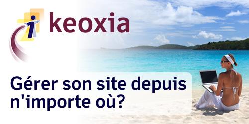 keoxia, solutions de gestion de contenu en ligne